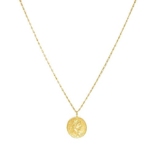Jonesy Wood Design Constantine Medallion Necklace