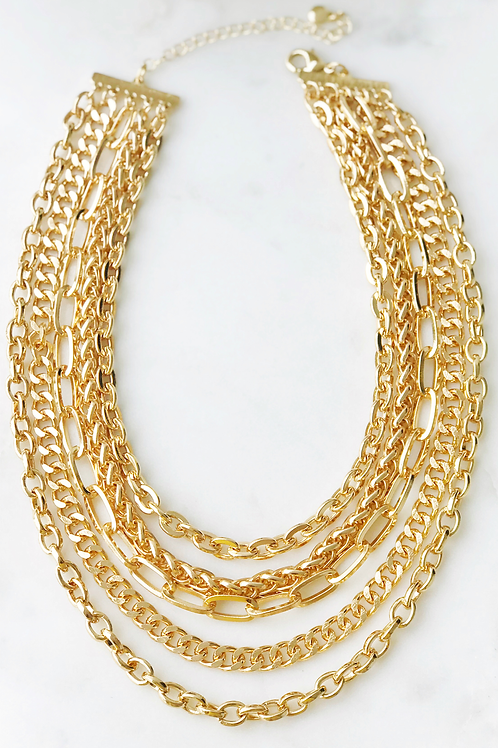 The Lucky Collective Chunky Chain Necklace