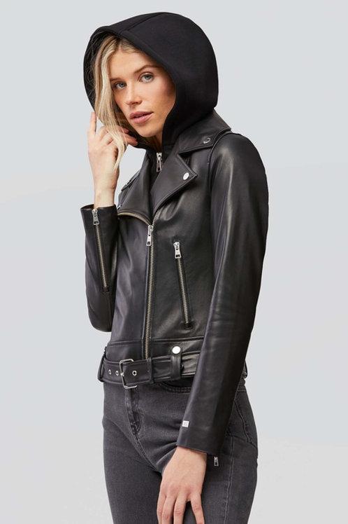Soia & Kyo Elisha Moto Leather Jacket