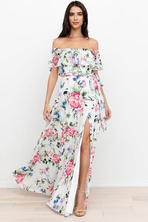 Yumi Kim Carmen Maxi Dress in Splendor Pink Floral
