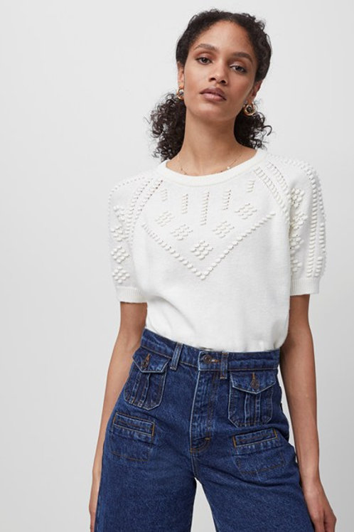 French Connection Karla Knitted Short Sleeve Sweater