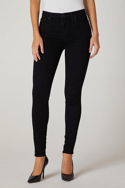 Hudson Barbara High-Rise Super Skinny Jean in Black
