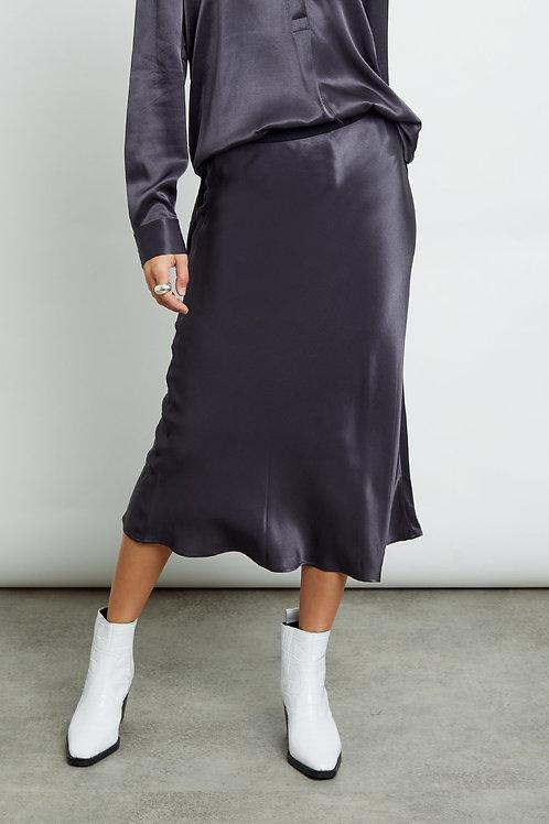 Rails Berlin Luxe Satin Midi Skirt