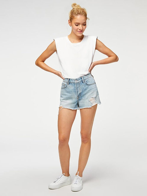 7 for All Mankind Monroe Cut-Off Shorts
