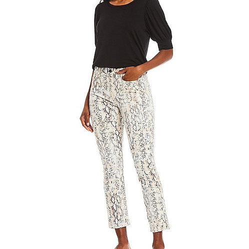 Jen7 by 7 for All Mankind Stretch Sateen Straight Leg Jeans