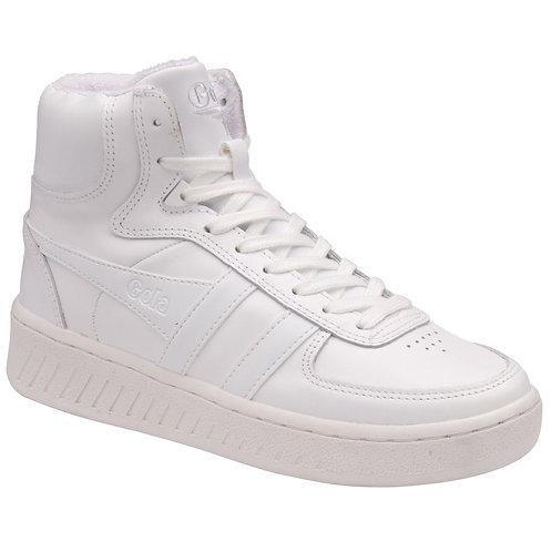 Gola Slam High Leather Sneakers