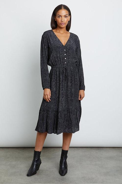 Rails Marion Midi Dress in Slate Python