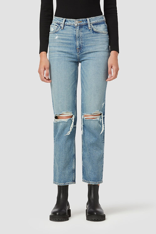 Hudson Remi High-Rise Straight Ankle Jean