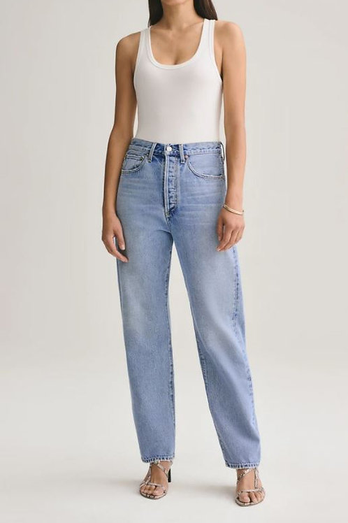 AGOLDE 90's Mid Rise Loose Fit in Snapshot