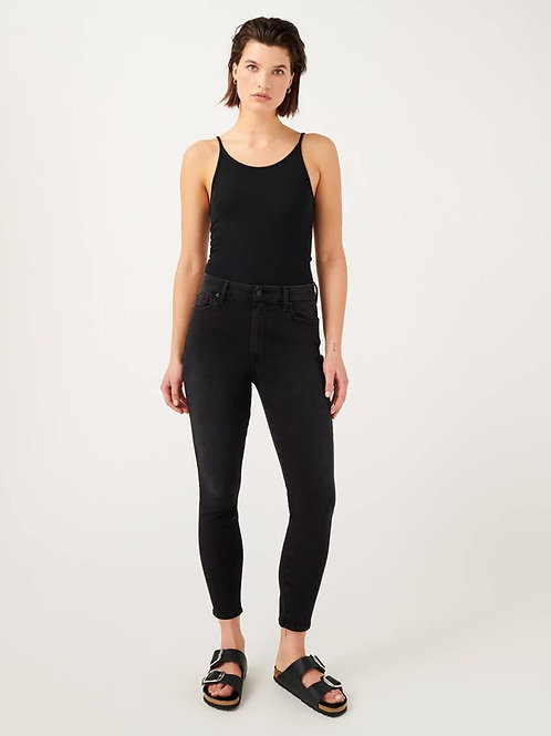 7 for All Mankind Slim Illusion High Waist Ankle Skinny in Essex