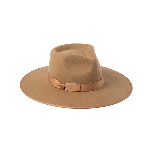 Lack of Color Teak Rancher in Light Brown