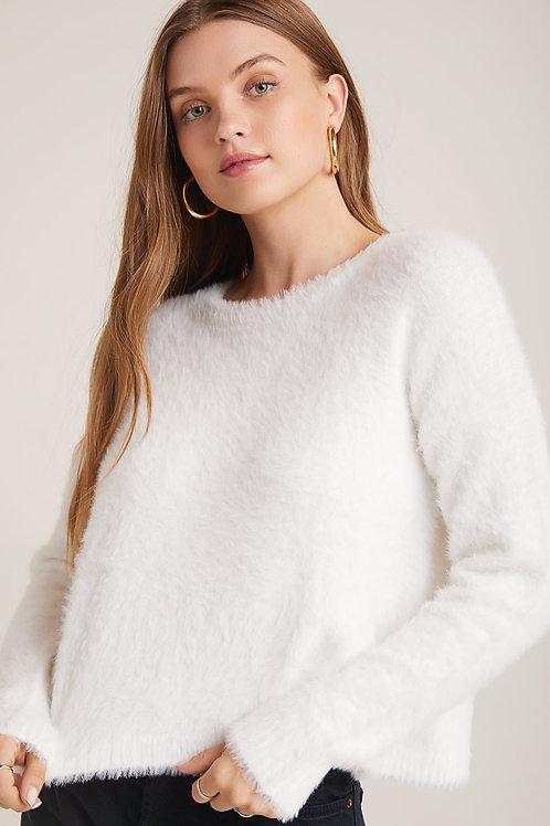 Bella Dahl Slouchy Fuzzy Knit Sweater
