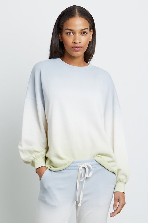 Rails Reeves Crewneck Dip Dye Sweatshirt