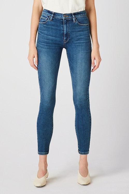 Hudson Barbara High-Rise Super Skinny Ankle Jean in Temptations