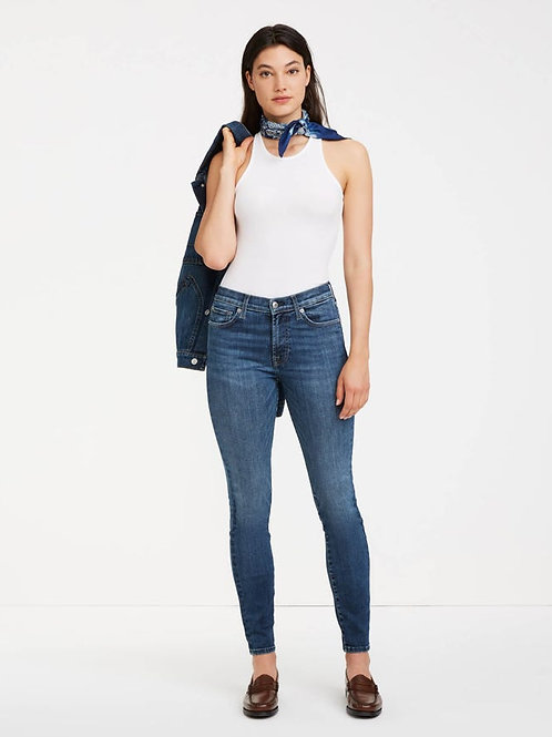 7 for All Mankind Slim Illusion Skinny Jean in Kent