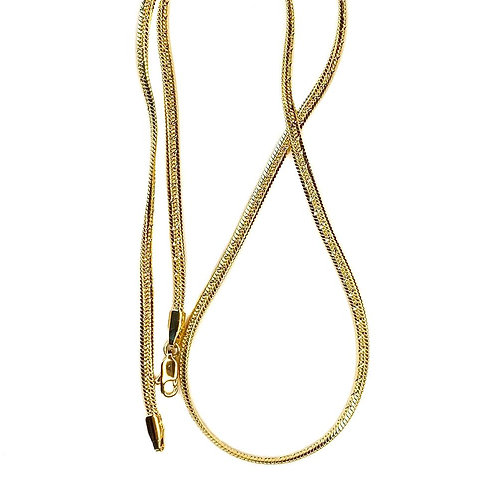 Jonesy Wood Design Renata Herringbone Chain Necklace
