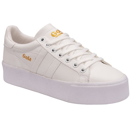 Gola Classics Women's Orchid Platform Sneakers in White