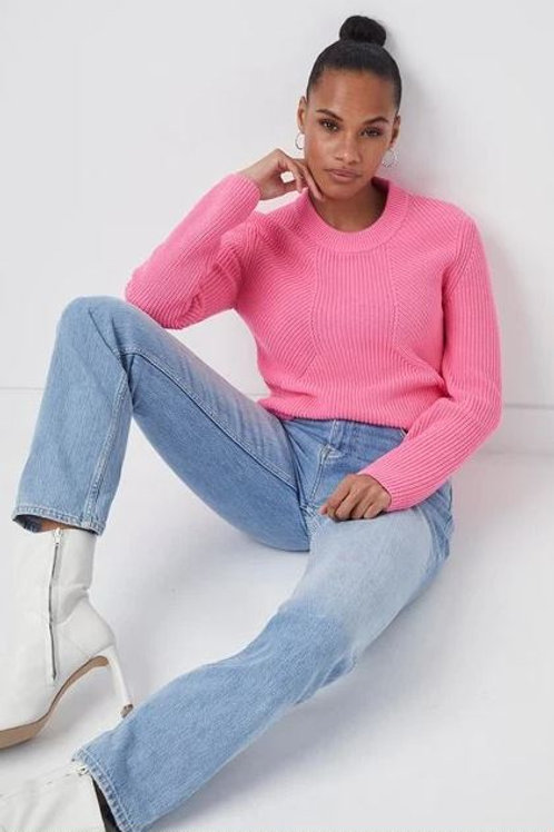 French Connection Nadia Mozart Rib Sweater