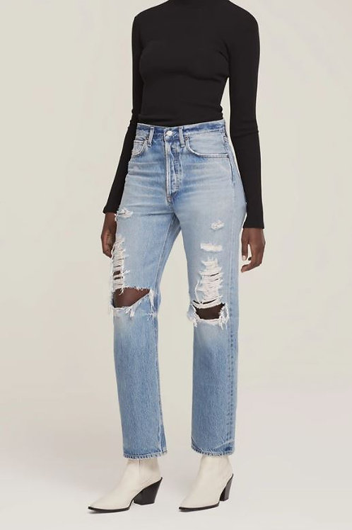 AGOLDE 90's Mid Rise Loose Fit in Major