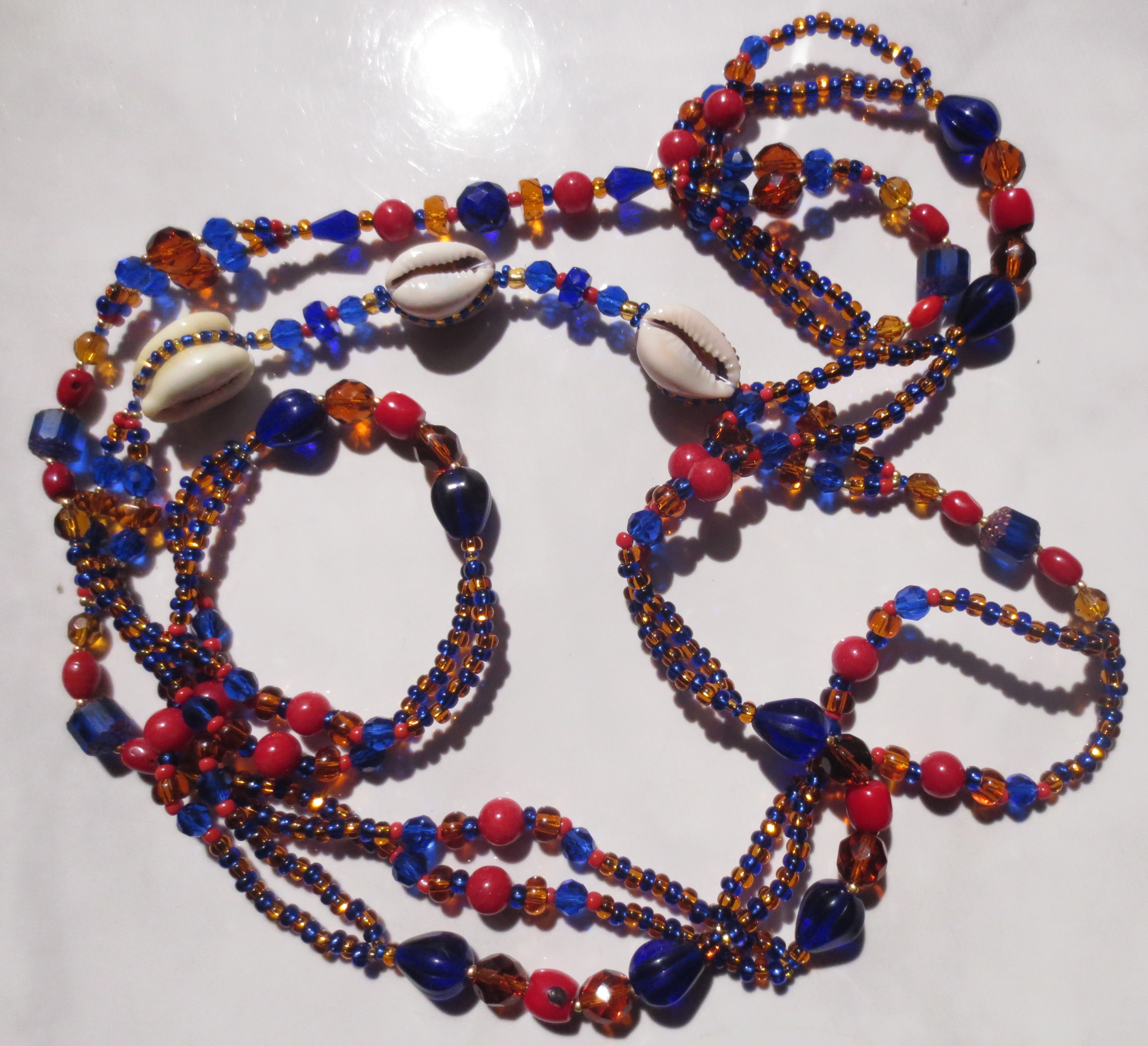 Ochosi double stranded eleke collar