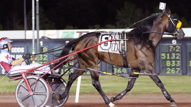 $100,000 Potomac Pace Draws Top Aged Pacers to Rosecroft