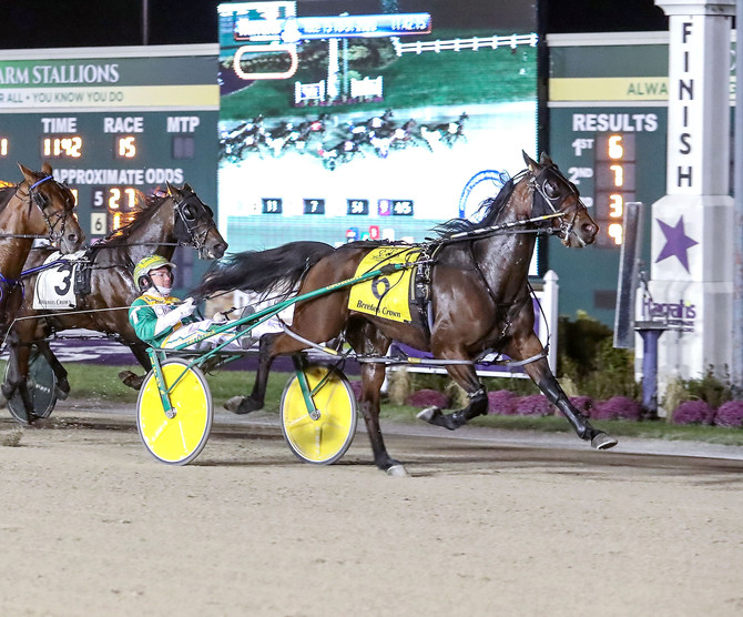 Potomac Pace Draws First Four Finishers from Breeders Crown