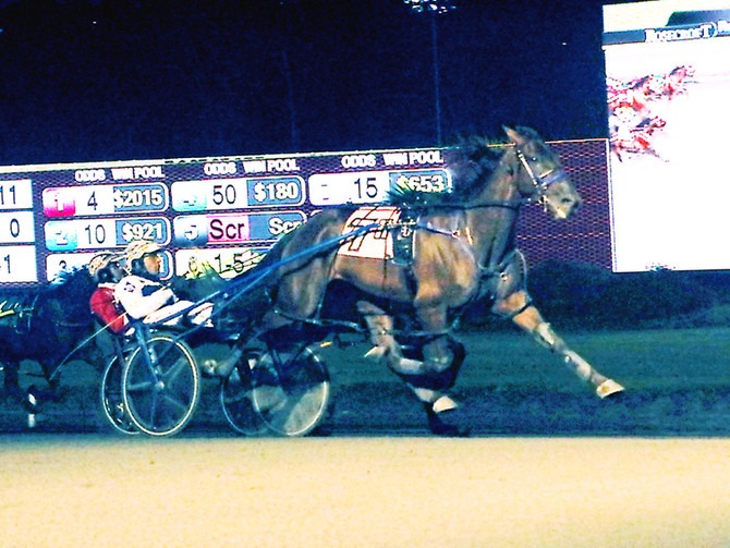 Leonidas A Pulls Off Upset in $100,000 Potomac Pace Invitational