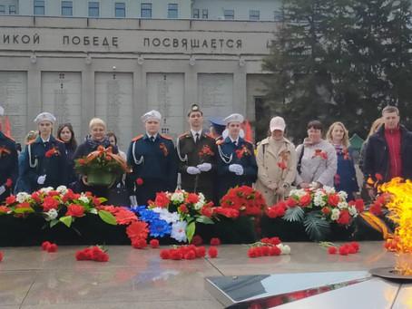 Городской Женсовет на праздновании дня Победы