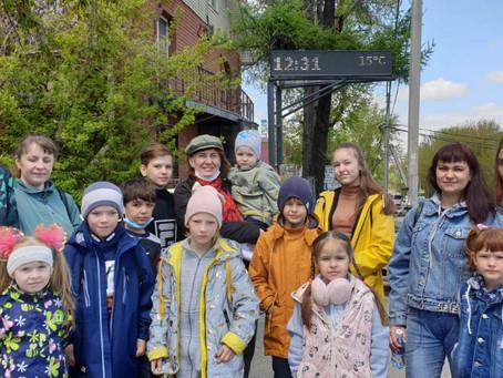 Иркутский нерпинарий встречает детей