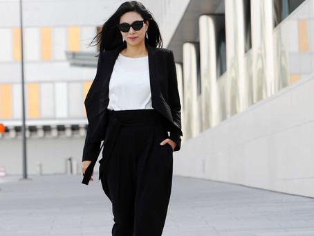 Chic in black & white