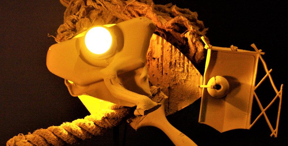 """Pesce lampada """"Pipirima""""."""