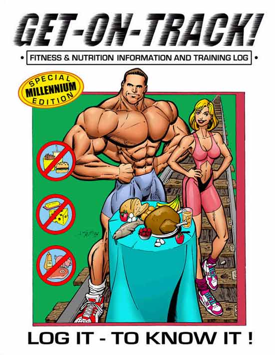 Bally's Total Fitness log book cover