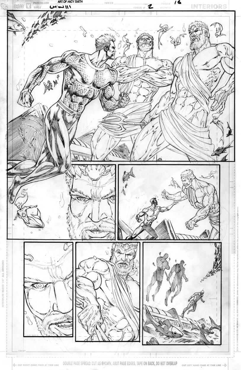 WW3 page 16 pencils