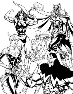 1stMan and Women of Marvel