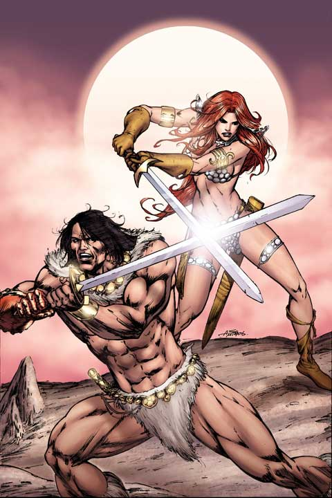 Red Sonja & Claw_04 cover