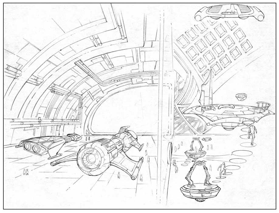 Interior Sci-Fi