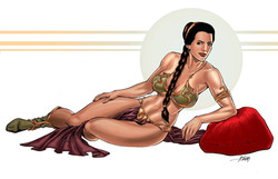 Star Wars Slave Leia