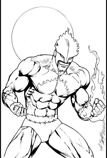 Marvel villain Hot Spot!