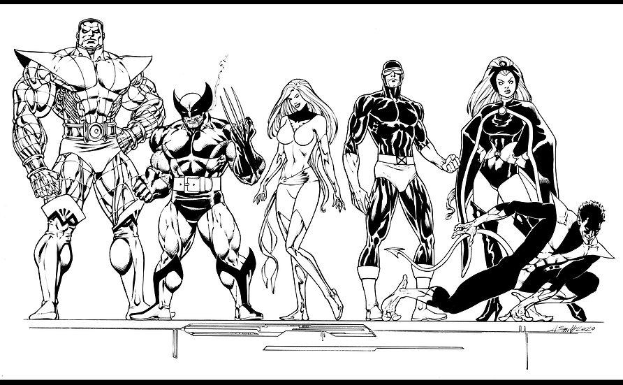 X-men Line-up!