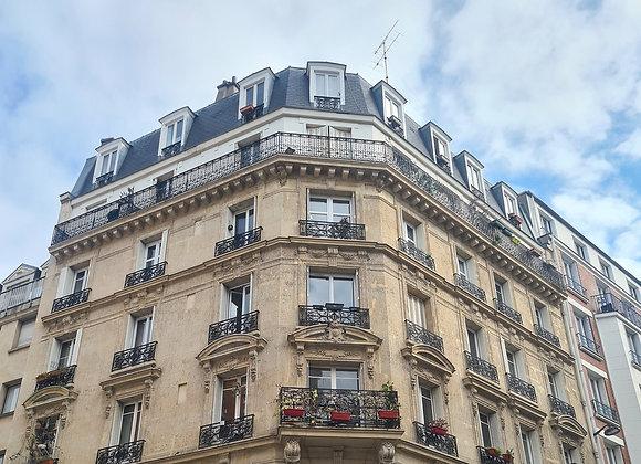 2 Pièces PARIS XVIII