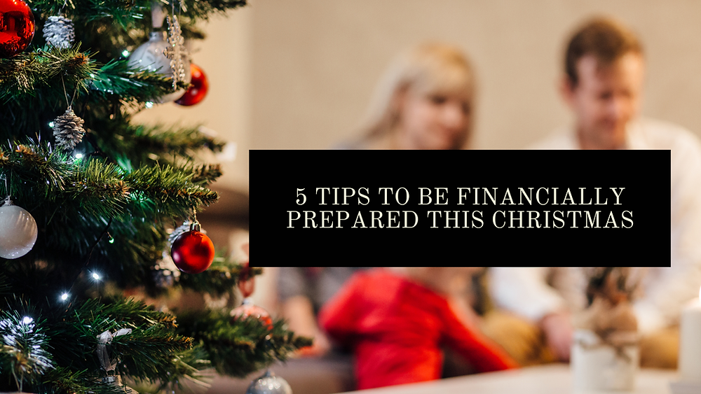 prepare your finances for christmas