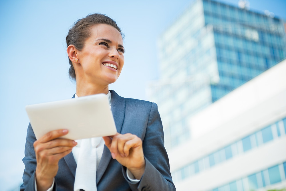 commercial finance business woman