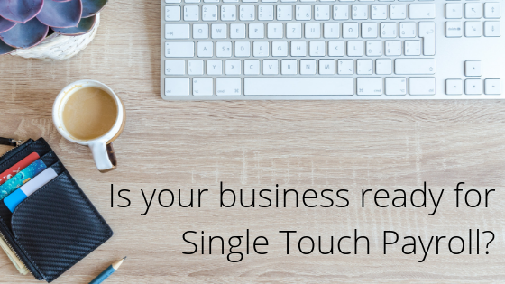 single touch payroll update