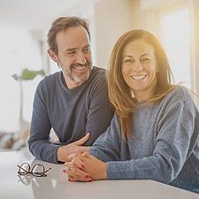 mature couple nearing retirement financi