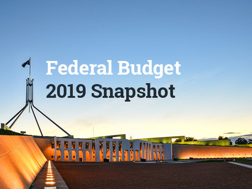 Federal Budget Update