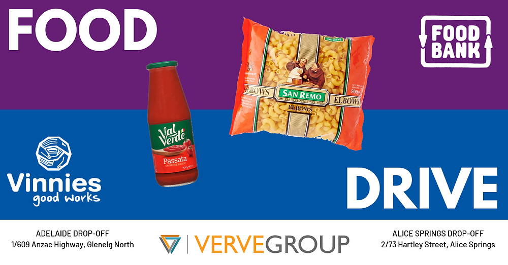 verve group food drive