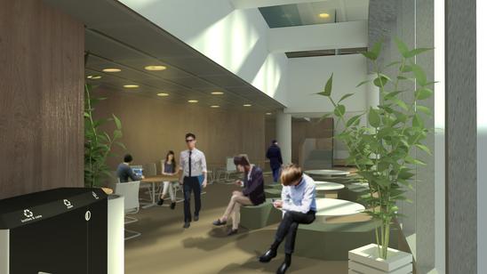 Rendering of Gates-Hillman Center 4400 at Carnegie Mellon University