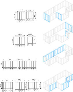 High Ceiling Wall Frames