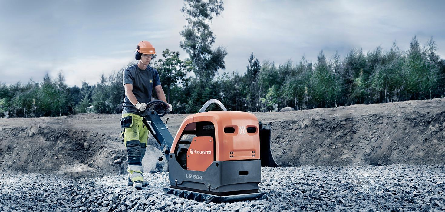 Husqvarna Construcrtion Equipment
