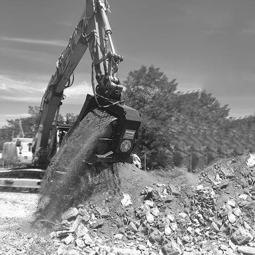 Cangini Excavator Attachments